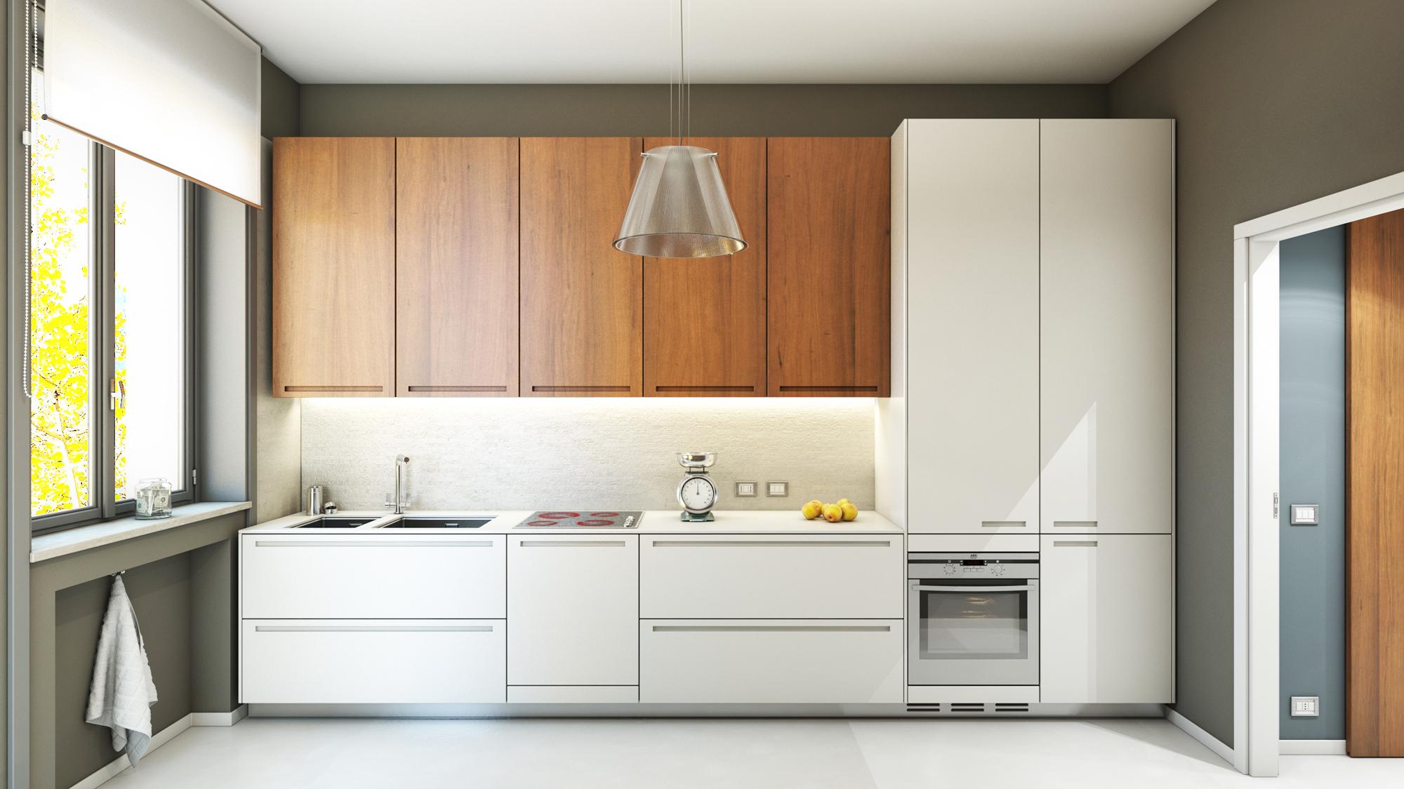 Ristrutturazione appartamento cucina milano via - Ristrutturazione cucina milano ...